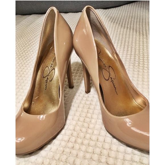 9b92ef236236 Jessica Simpson Shoes - JESSICA SIMPSON Classic Round Toe Nude Pump